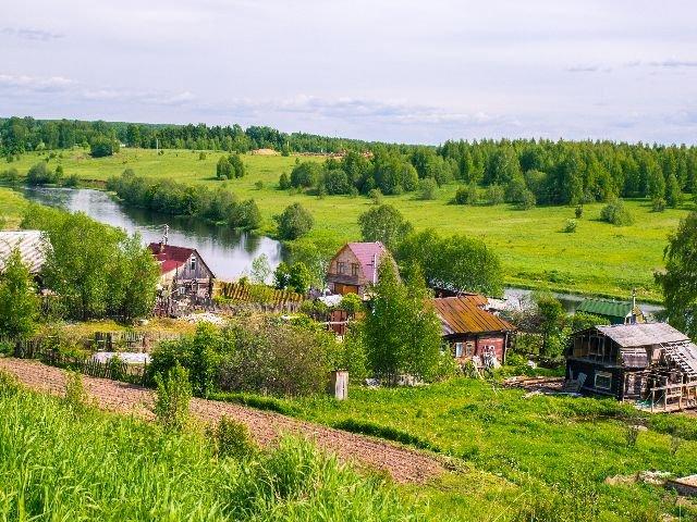 Platteland Rusland
