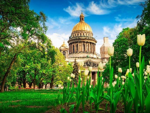Sint-Petersburg - St. Isaac Kathedraal