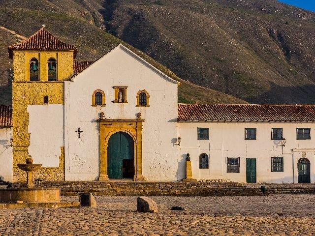 Colombia - Villa de Leyva - Plaza Mayor