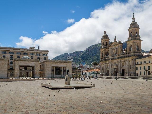 Colombia - Bogotá - Bolivar Square