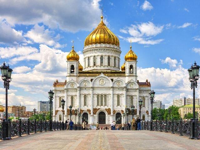 Moskou - Christus de verlosserkathedraal