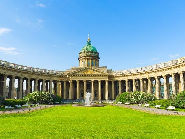 Sint-Petersburg - Kazankathedraal