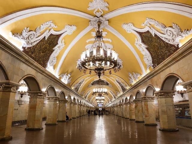 Moskou - Metrostation