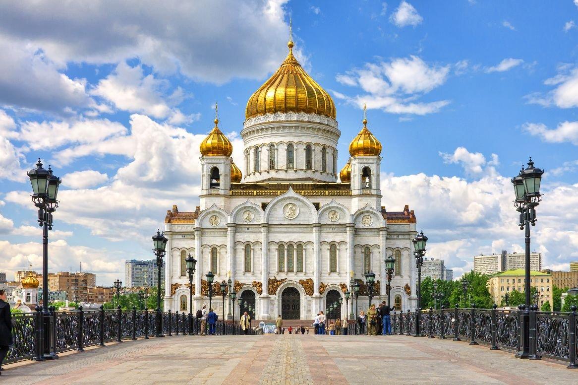 Moskou - Christus de verlosserkerk