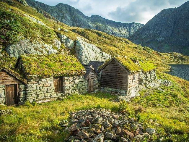 Noorwegen - Omgeving Follgefonna Gletjer