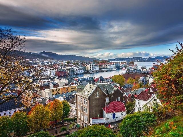 Noorwegen - Bergen in de herfst