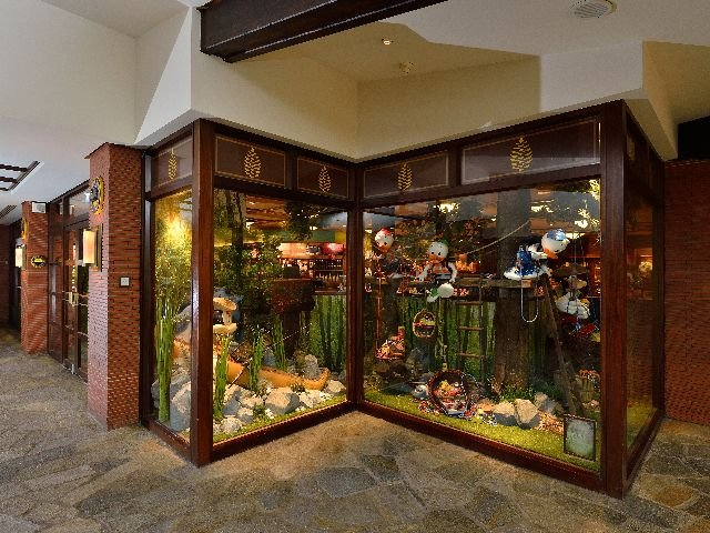 Disneyland Paris - Disney's Hotel Sequoia Lodge - winkel
