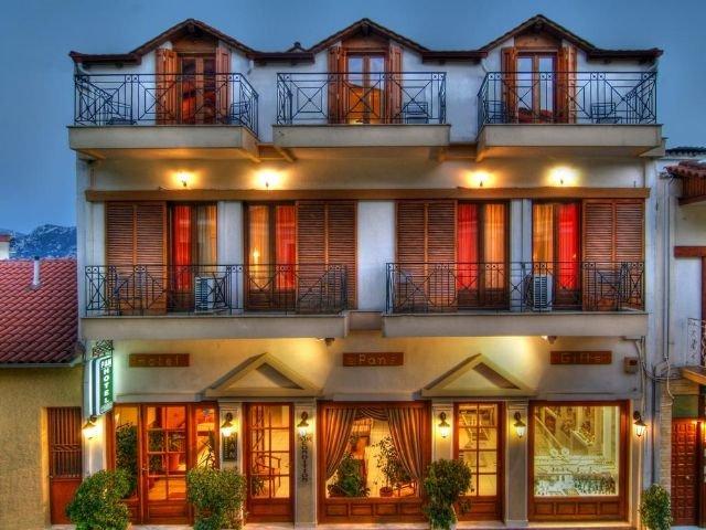 Griekenland - Delphi - Hotel Pan