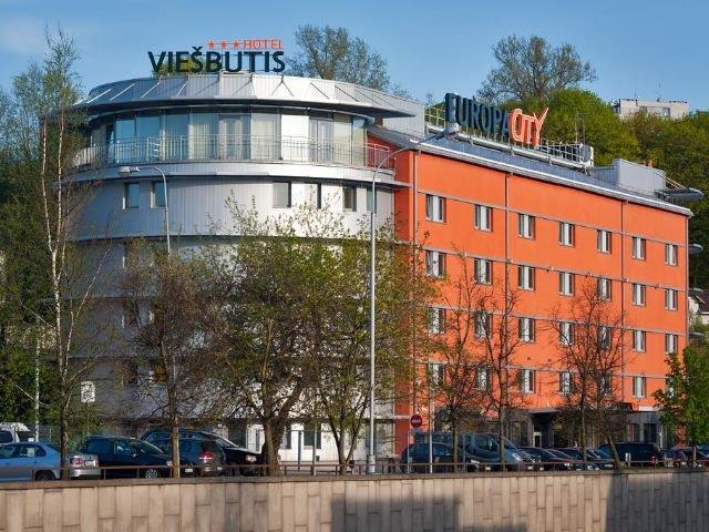 Vilnius - Hotel Europa City *** - vooraanzicht