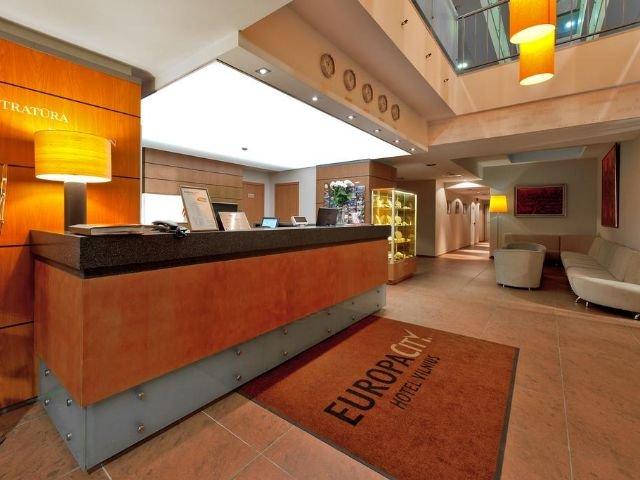 Vilnius - Hotel Europa City *** - receptie
