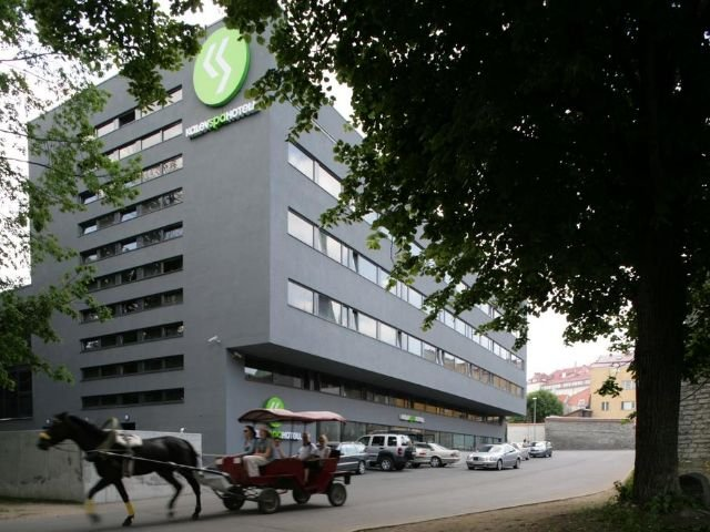 Tallinn - Kalev Spa Hotel **** - vooraanzicht