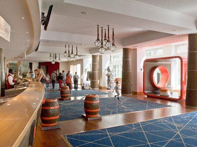 Disneyland Paris -Explorers Hotel - receptie