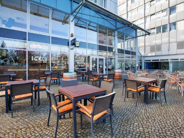 Berlijn - City Hotel Berlin East **** - terras