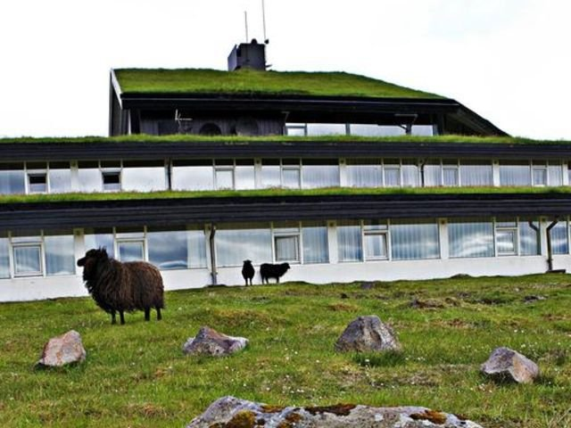 Denemarken - Faeroer Eilanden - Torshavn - Hotel Foroyar