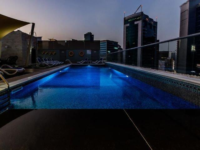Signature 1 Hotel Tecom - zwembad