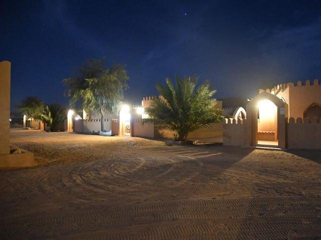 Arabian Oryx Camp - kamp