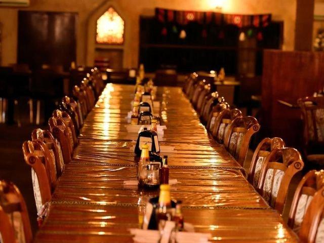 Arabian Oryx Camp - restaurant