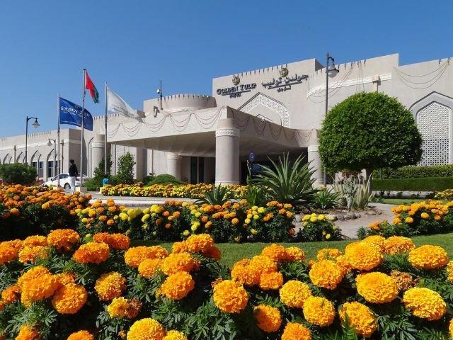 Golden Tulip Hotel - vooraanzicht