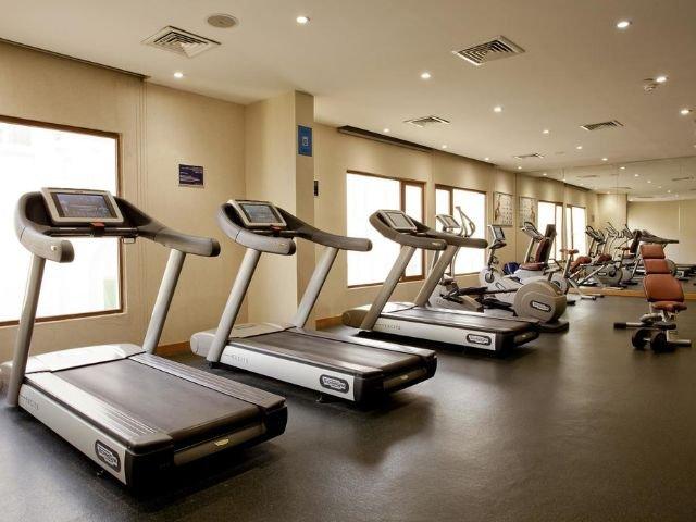 Park Inn Hotel - fitnessruimte
