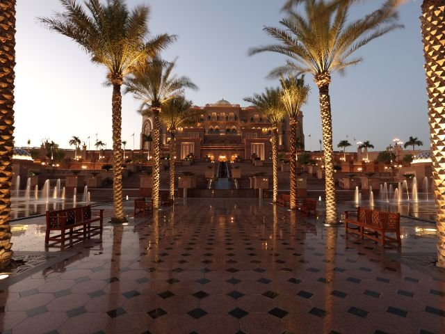 Verenigde Arabische Emiraten - Abu Dhabi - Emirates Palace
