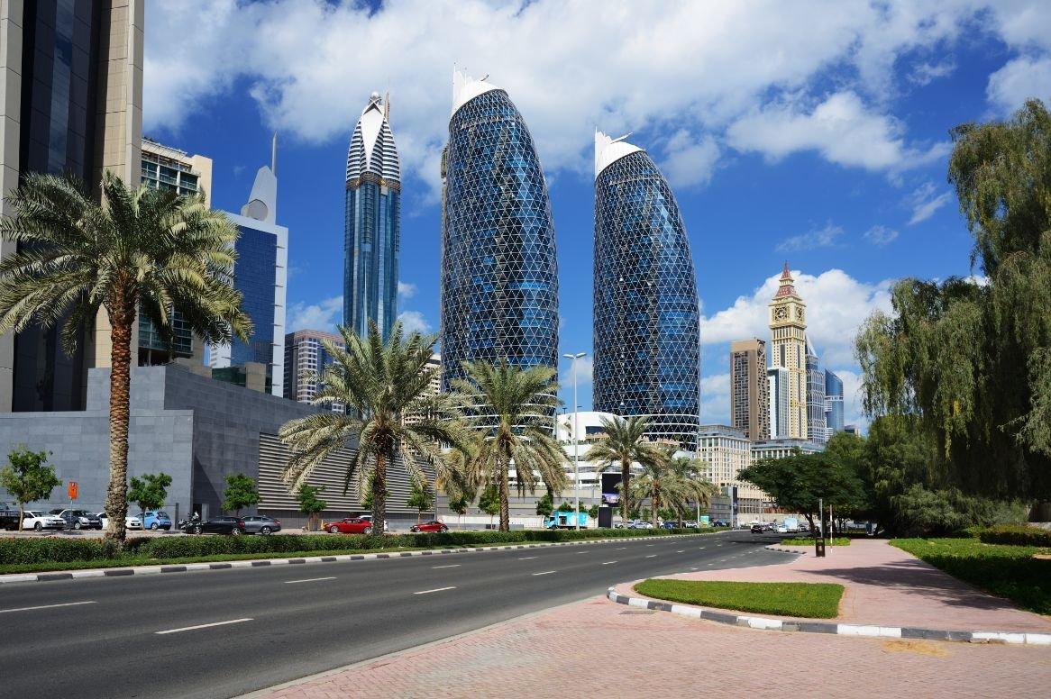 Verenigde Arabische Emiraten - Dubai - financieel district