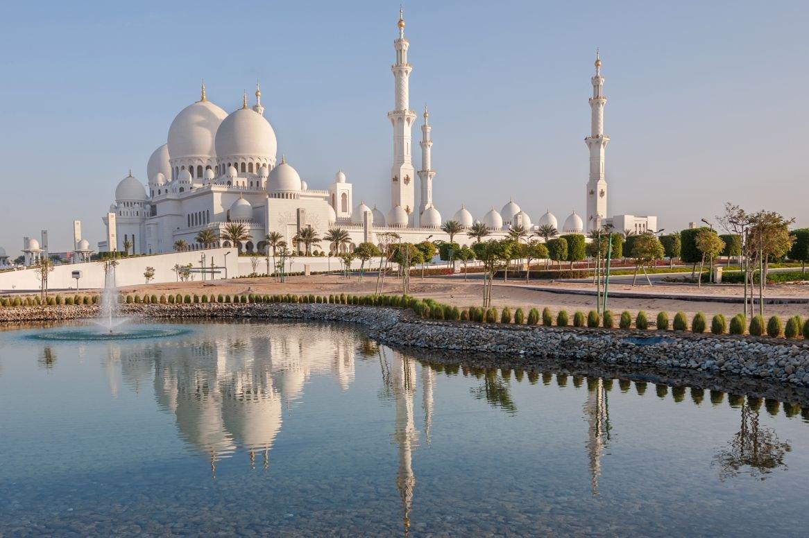 Verenigde Arabische Emiraten - Abu Dhabi - Sheikh Zayed Moskee