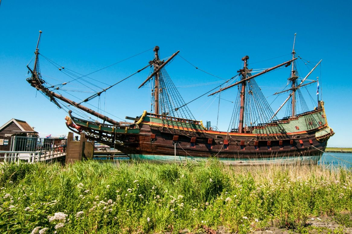 Lelystad_historisch zeilschip in Batavia haven