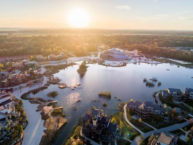 Disneyland Paris - Villages Nature Paris - overzicht park