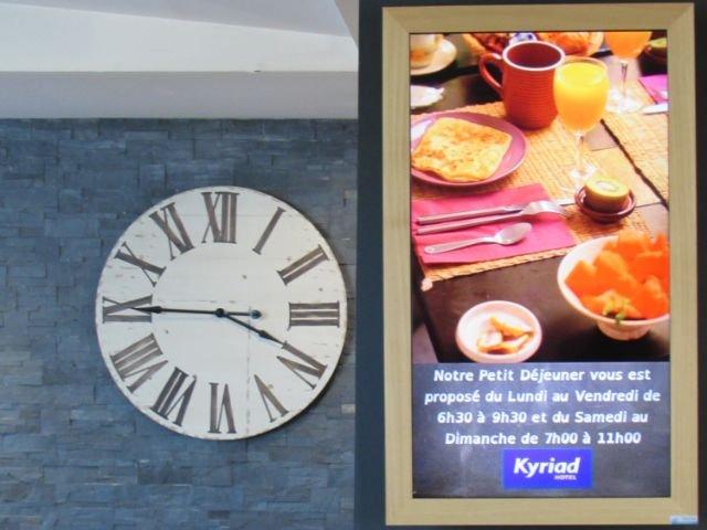 Disneyland Paris - hotel Kyriad Torcy - ontbijt
