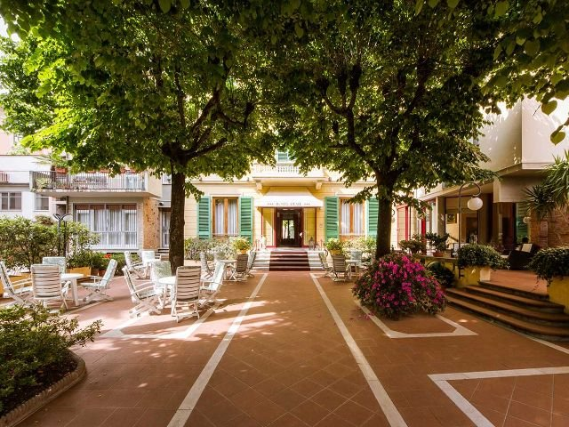 Hotel Reale tuin