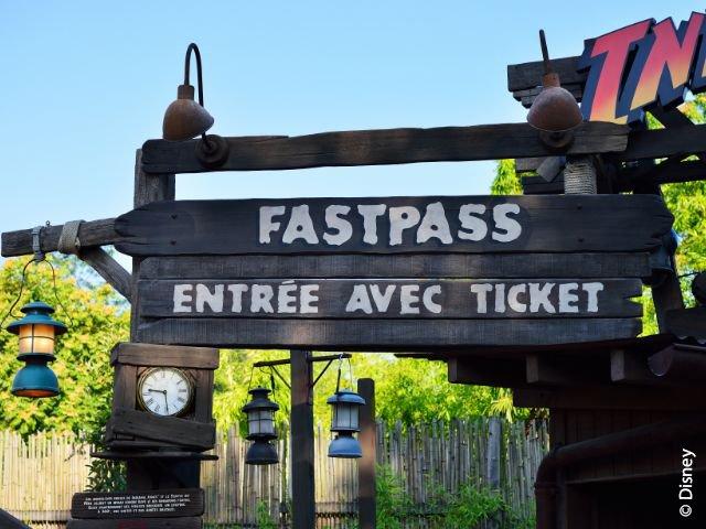 Disneyland Paris - Disneyland Park - FastPass ingang