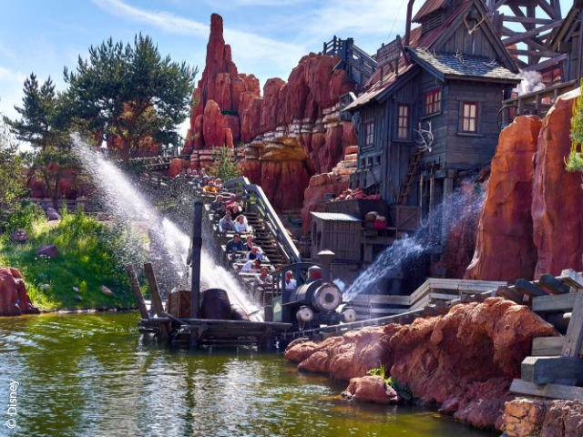 Disneyland Paris - Disneyland Park - Big Thunder Mountain