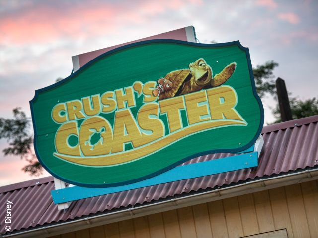 Disneyland Paris - Walt Disney Studios Park - Crush's Coaster