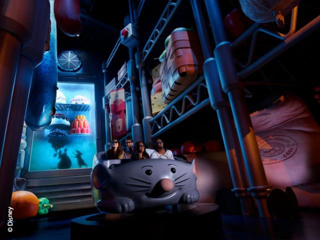 Disneyland Paris - Walt Disney Studios Park - Ratatouille