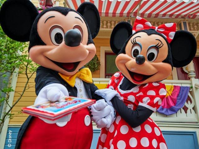 Disneyland Paris - Disneyland Park - Mickey en Minnie