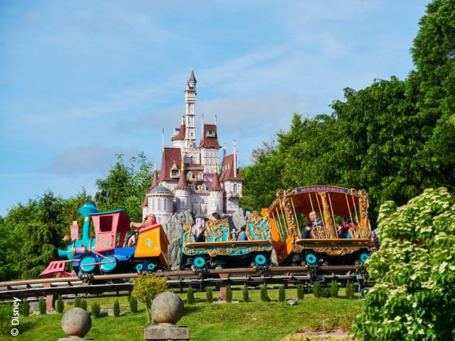 Disneyland Paris - Disneyland Park - Casey Jr. - le Petit Train du Cirque