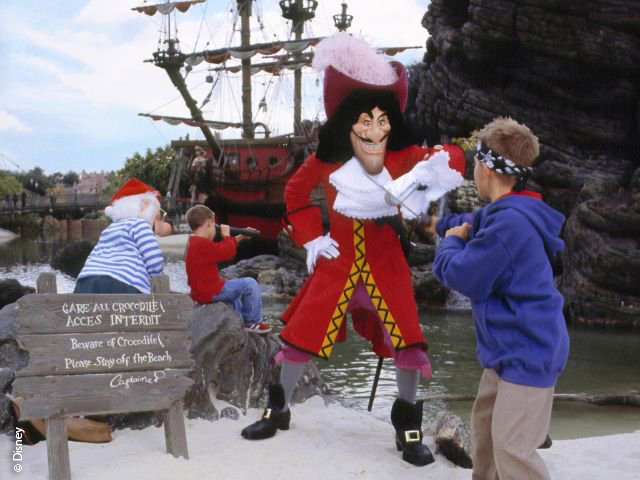 Disneyland Paris - Disneyland Park - Captain Hook