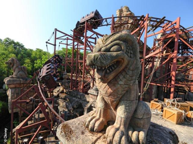 Disneyland Paris - Disneyland Park - Indiana Jones and the Temple of Peril