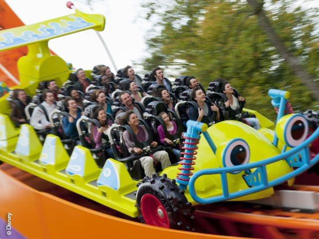 Disneyland Paris - Walt Disney Studios Park - RC Racer