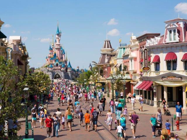 Disneyland Paris - Disneyland Park - MainStreet U.S.A.