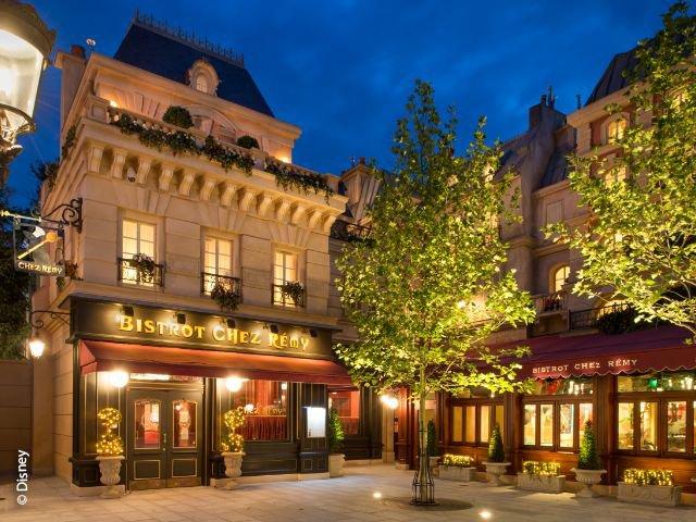 Disneyland Paris - Walt Disney Studios Park - restaurant Bistrot Chez Remy