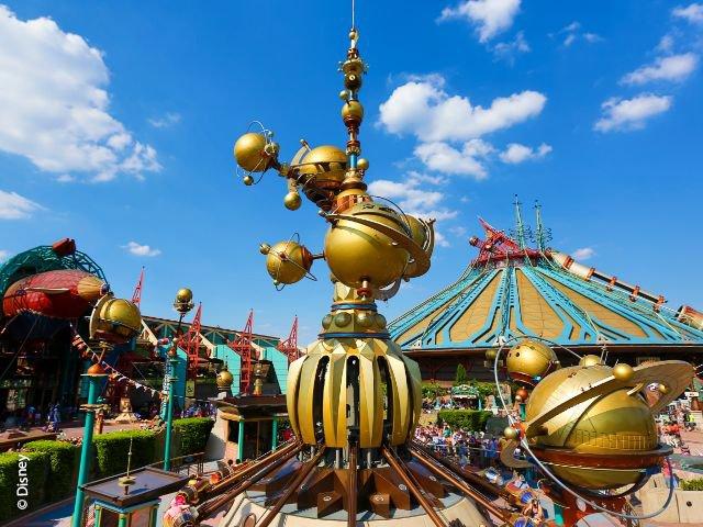 Disneyland Paris - Disneyland Park - Orbitron