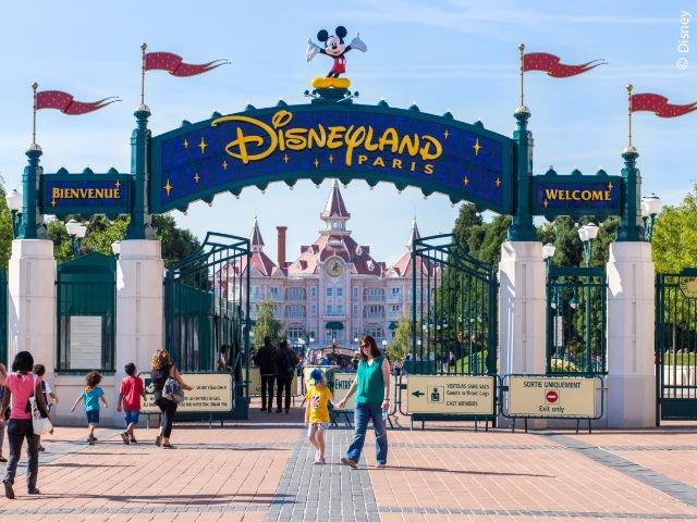 Disneyland Paris - Disneyland Park - Ingang