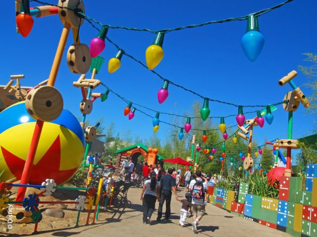 Disneyland Paris - Walt Disney Studios Park - Toy Story Playland