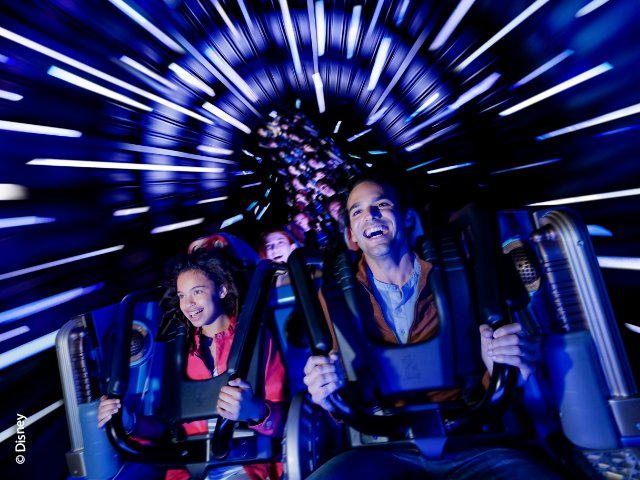 Disneyland Paris - Disneyland Park - Star Wars Hyperspace Mountain