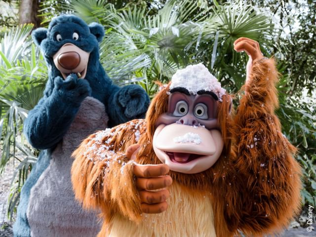Disneyland Paris - Disneyland Park - King Louie & Baloe