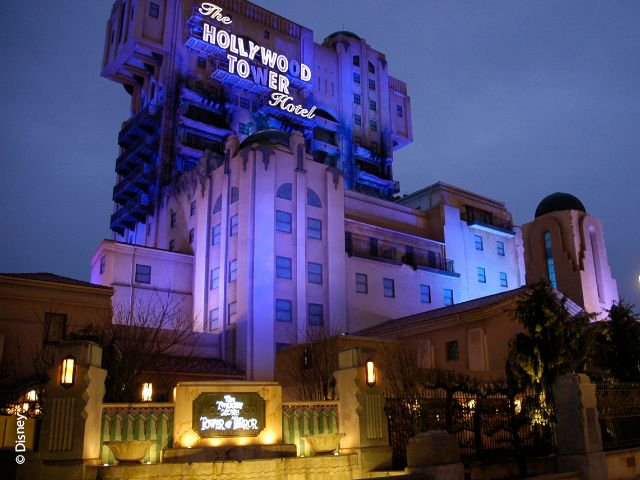 Disneyland Paris - Walt Disney Studios Park - The Twilight Zone Tower of Terror