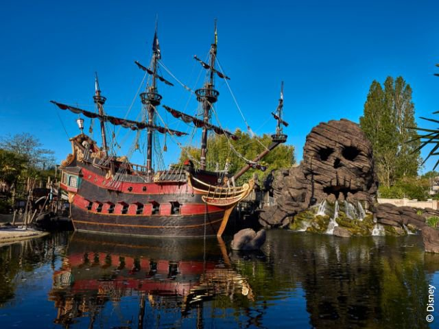 Disneyland Paris - Disneyland Park - Pirates' Beach