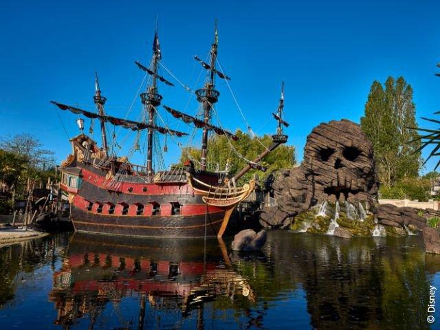 Disneyland Paris - Disneyland Park - Pirates' Beach