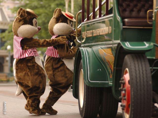 Disneyland Paris - Disneyland Park - Knabbel & Babbel